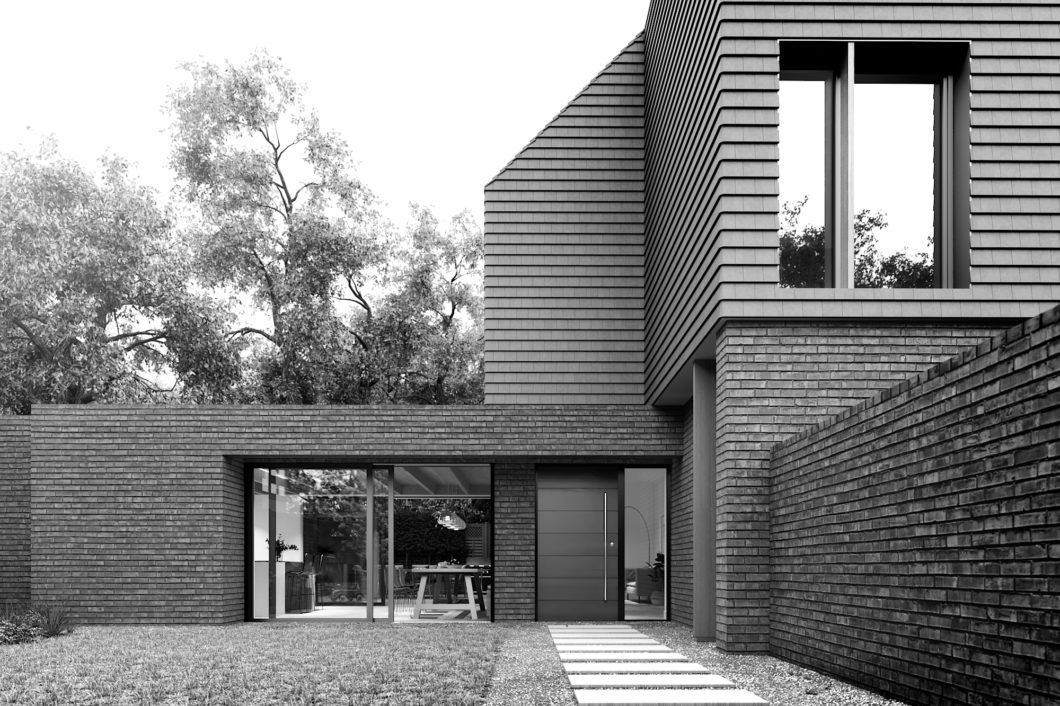 terracotta house - Annabelle Tugby Architects