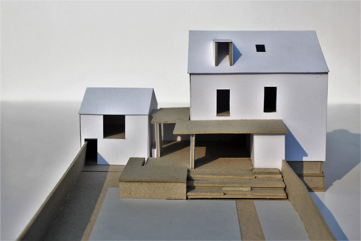 architecture model extension victorian