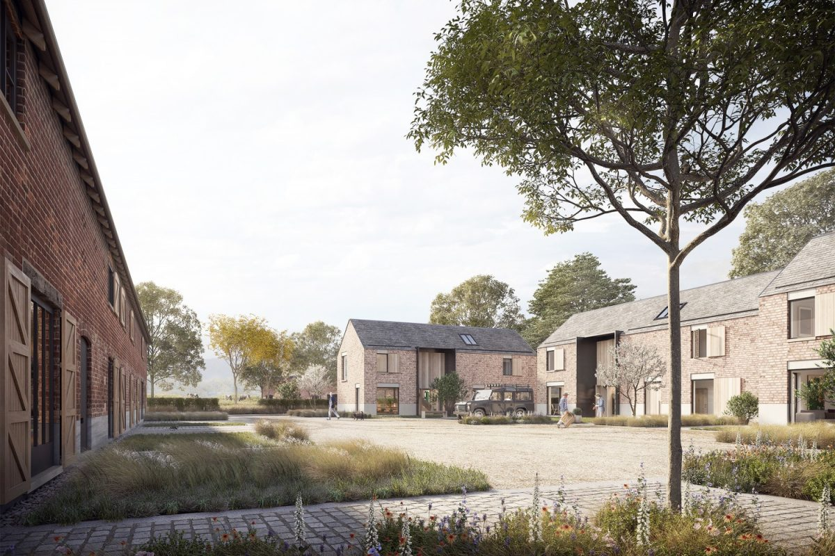 alderley fold barns - Annabelle Tugby Architects. image credit: pillar visuals