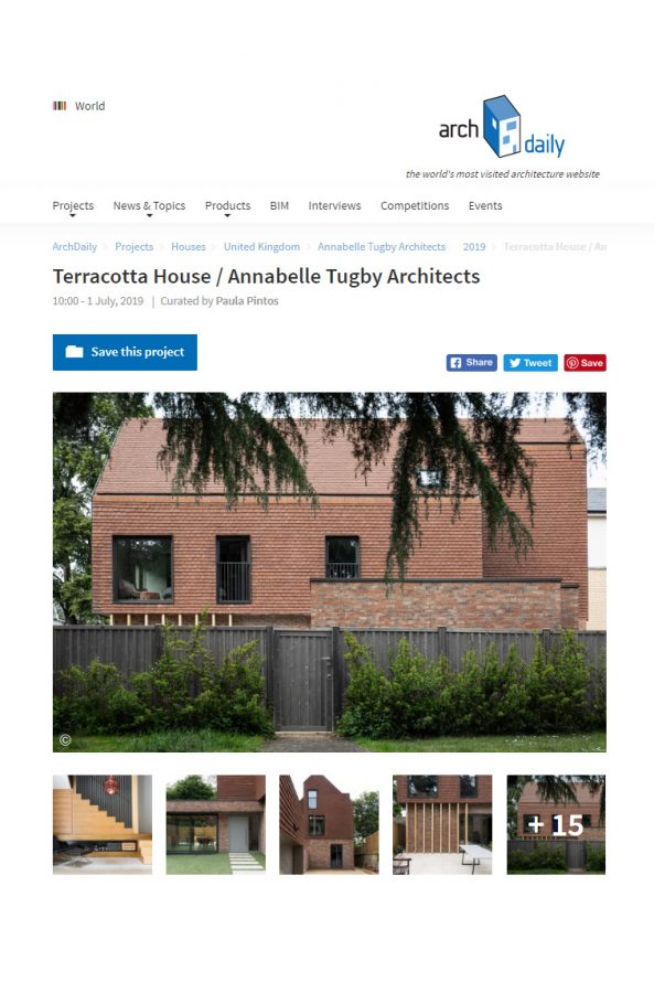 archdaily - Annabelle Tugby