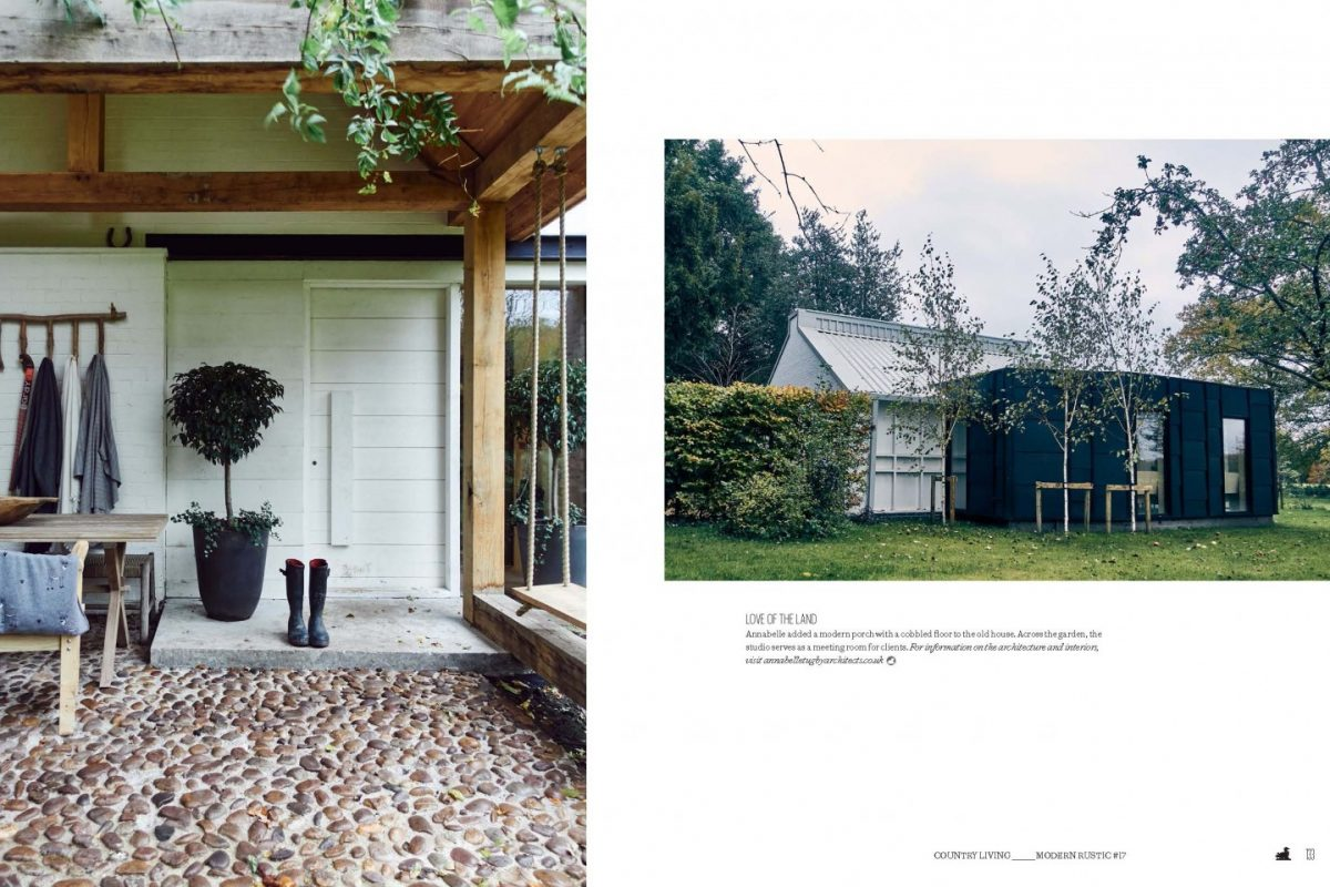 modern rustic magazine feature - Annabelle Tugby