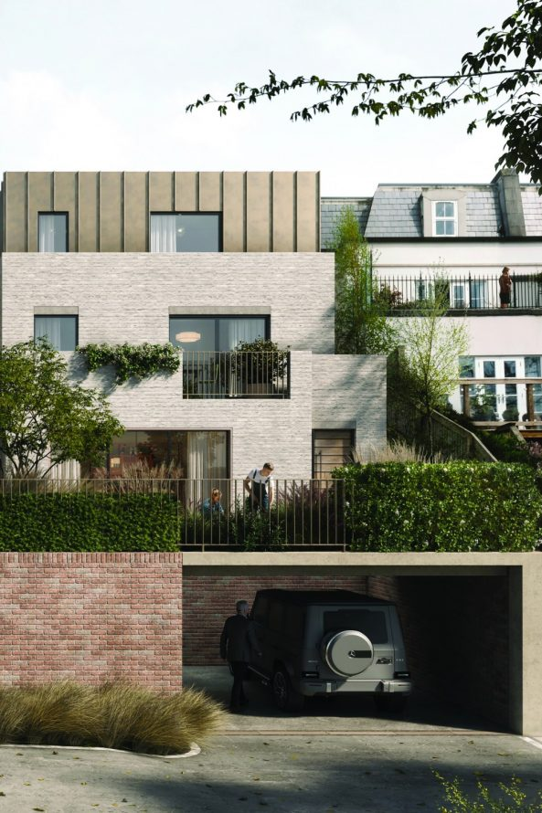 prestbury townhouses - Annabelle Tugby. image credit: pillar visuals