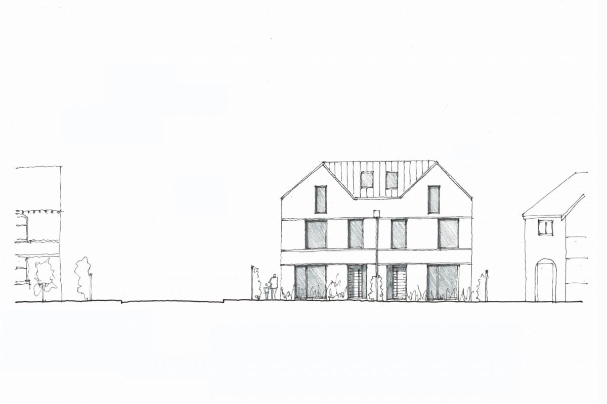 corner house - Annabelle Tugby